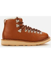 Diemme Inverno Vet Leather Hiking Style Boots - Brown
