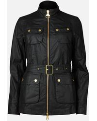 Barbour Guard Wax Jacket - Black