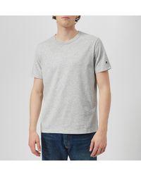 Champion Crew Neck T-shirt - Gray