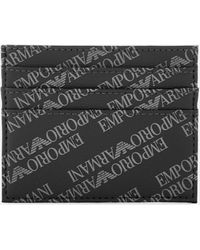 Emporio Armani Credit Card Holder - Black