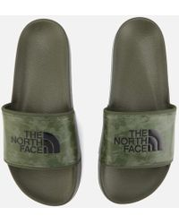 The North Face - Men's Base Camp Ii Slide Sandals - Lyst