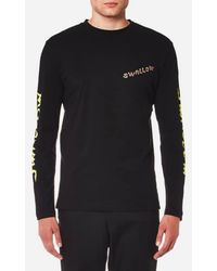 McQ Alexander McQueen | Men's Electric Swallow Long Sleeve Tshirt | Lyst