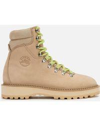 Diemme Monfumo Nubuck Hiking Style Boots - Natural