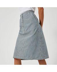 A.P.C. - Women's Love Skirt - Lyst