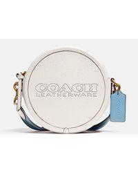 COACH Colorblock Penn Circle Bag - Multicolour