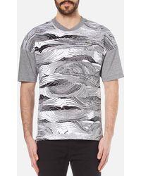 Lacoste   Men's Graphic Print Tshirt   Lyst
