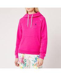 Polo Ralph Lauren Tie-dye Hoody - Pink