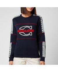 COACH Athletic Sweatshirt - Blue