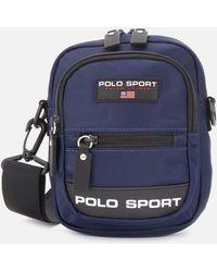Polo Ralph Lauren Polo Sport Messenger Bag - Blue