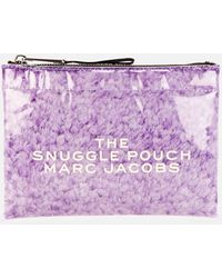 Marc Jacobs The Flat Snuggle Pouch - Purple