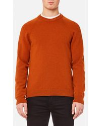 PS by Paul Smith - Men's Heavy Merino Plain Knitted Jumper - Lyst