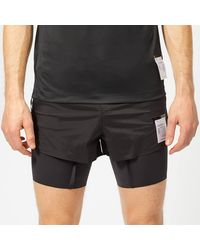 Satisfy Short Distance 8 Inch Shorts - Black