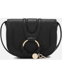 See By Chloé Hana Leather Small Cross Body Bag - Black