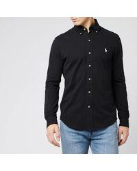 Polo Ralph Lauren Featherweight Mesh Shirt - Black