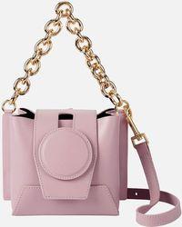 Yuzefi Daria Leather Bag - Pink