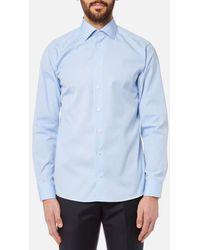 Eton of Sweden   Men's Slim Fit Cut Away Collar Single Cuff Shirt   Lyst