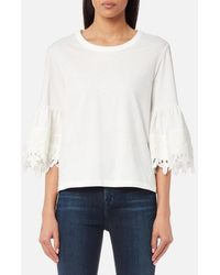 See By Chloé - Women's Embellished Top - Lyst