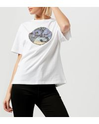 PS by Paul Smith - Women's Ps Sequin Tshirt - Lyst