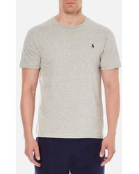 Polo Ralph Lauren - Men's Short Sleeved Crew Neck Tshirt - Lyst