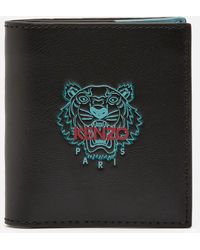 KENZO Slim Fold Wallet - Black