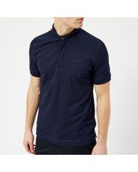 Lacoste   Men's Hidden Placket Polo Shirt   Lyst
