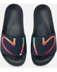 Paul Smith Summit Slide Sandals - Blue