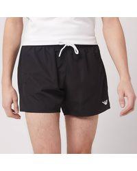 Emporio Armani Classic Swim Shorts - Black