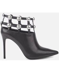 Alexander Wang - Women's Tina Leather Shoe Boots - Lyst