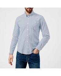 Barbour - Men's Lang Long Sleeve Shirt - Lyst