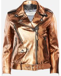 Golden Goose Deluxe Brand Chiodo Dakota Biker Jacket - Brown