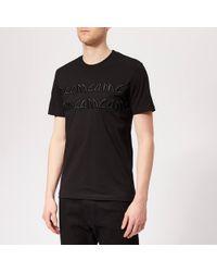 McQ Metal Logo T-shirt - Black