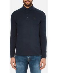 Barbour - Heritage Men's Standard Long Sleeve Polo Shirt - Lyst