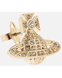 Vivienne Westwood Minnie Bas Relief Earrings - Metallic