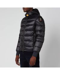 Parajumpers Pharrell Padded Hooded Jacket - Blue