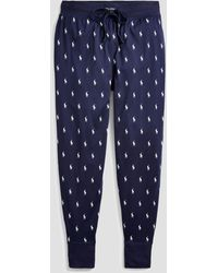 Polo Ralph Lauren Sleep Jogger Trousers - Blue