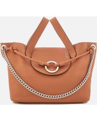 meli melo Linked Thela Medium Tote Bag - Brown