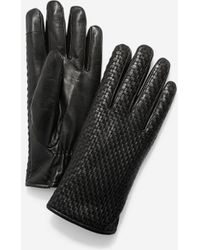 Cole Haan - Brayton Weave Gloves - Lyst