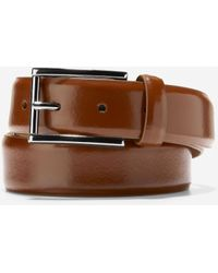 Cole Haan Warner 32mm Dress Belt - Brown