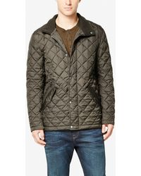 Cole Haan - Quilted Barn Jacket - Lyst
