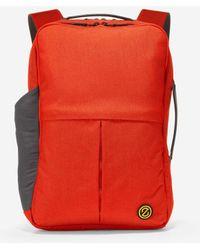 Cole Haan Zerøgrand Slim Convertible Backpack - Red