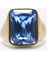 Cole Haan - Aurora Sky Rectangle Ring - Lyst
