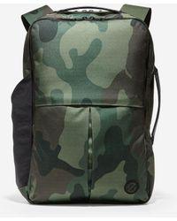 Cole Haan Zerøgrand Slim Convertible Backpack - Green