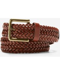 Cole Haan Braided 35mm Belt - Brown