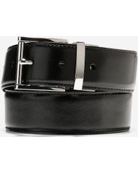 Cole Haan - 35mm Reversible Feather Edge Belt - Lyst