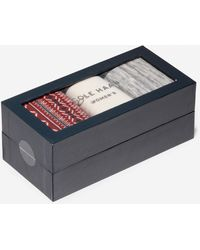 Cole Haan 3 Pair Isle Boot Sock Gift Box - Gray