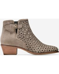 Cole Haan - Willette Perforated Bootie (45mm) - Lyst