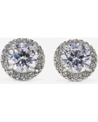 Cole Haan - Tali Round Cubic Zirconia Halo Stud Earrings - Lyst