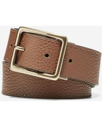 Cole Haan - 35mm Reversible Pebble/smooth Leather Belt - Lyst