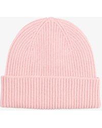 COLORFUL STANDARD Merino Wool Beanie - Pink