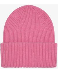 COLORFUL STANDARD Merino Wool Hat - Pink